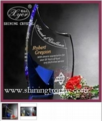 HDA2001 Hot Selling Crystal Award