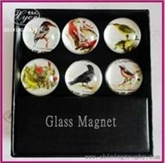 Wholesale Crystal Glass Fridge Magnet