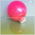 200ml/ 7oz/100mm pet candy plastic toy ball/plastic christmas ball 1