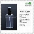 60ml 2oz pet flat bottle for cosmetic