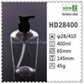 400ml plastic hand liquid soap bottle