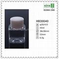 45ml PET square mini plastic bottle for