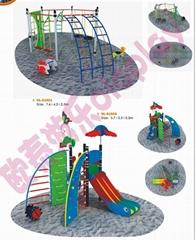 攀爬滑梯組合