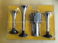 三管大電機鍍鉻喇叭