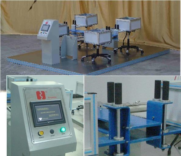 KW-BFM-17-04 Caster Durablity Tester( 4 samples)  1