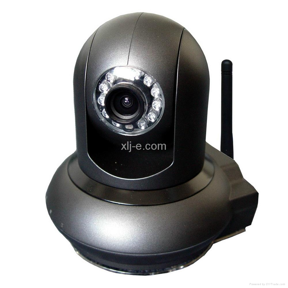 Megapixel 720P H.264 P2P Wireless PT IP Camera
