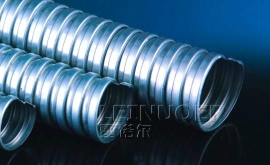 Galvanized metal flexible pipes 3