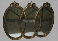 antique reproduction wall mirror