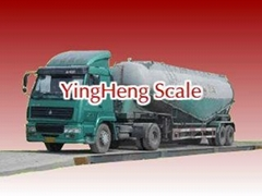 export Analog electronic truck scale from YingHeng  Weighing Scale