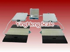 export Portable electronic truck scale from YingHeng  Weighing Scale