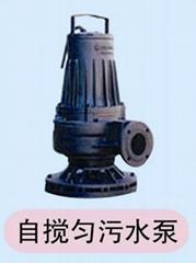 JBQW自动搅拌(匀)潜水排污泵