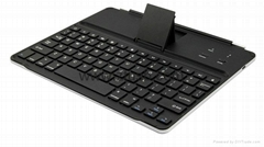 hot selling metal aluminium alloy bluetooth keyboard