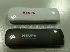 3G HSDPA WCDMA USB wireless data card 7.2 Mbps