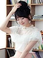 时尚女装 韩版 蕾丝 公主T恤