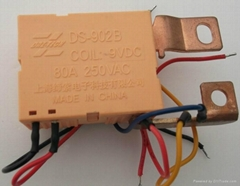 Magnetic latching relay DS902B  80A