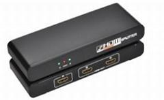 一進二出HDMI分配器