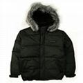Down jacket ski snowboard coat parka Faux Leather NWT 1