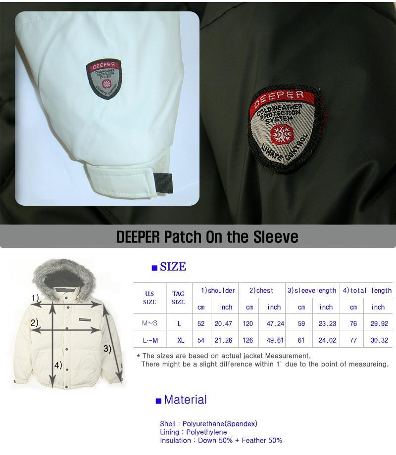Down jacket ski snowboard coat parka Faux Leather NWT 3