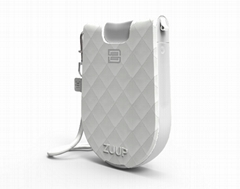 Zuup Plus Collection, White Leather