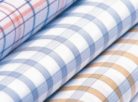 100% cotton yarn dyed poplin 1