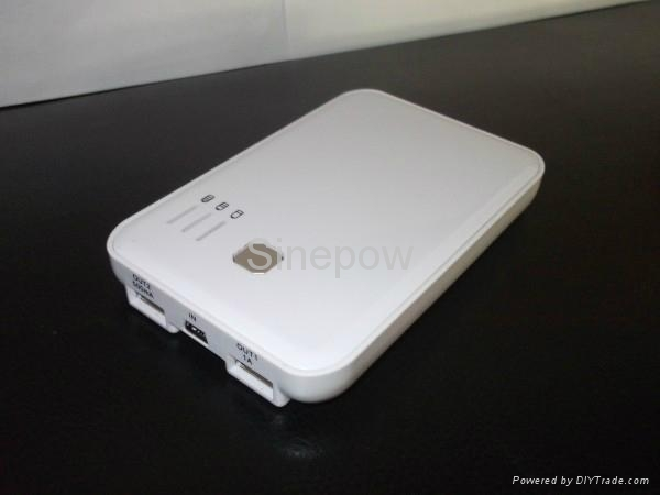 5000mAh portable power bank backup battery 1