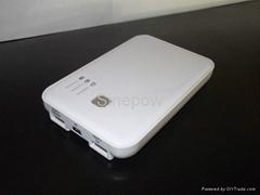 5000mAh portable power bank backup battery