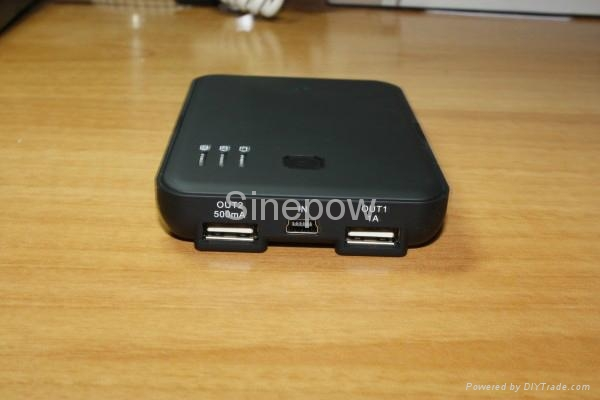 5000mAh portable power bank backup battery 4