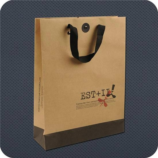 Kraft Paper Bag With Cotton Rope Handle (BC-B03) 1