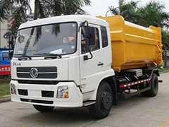Garbage Truck with 90kph Maximum Driving Speed