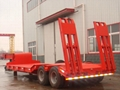Low Bed Semi Trailer with 8500 to 11
