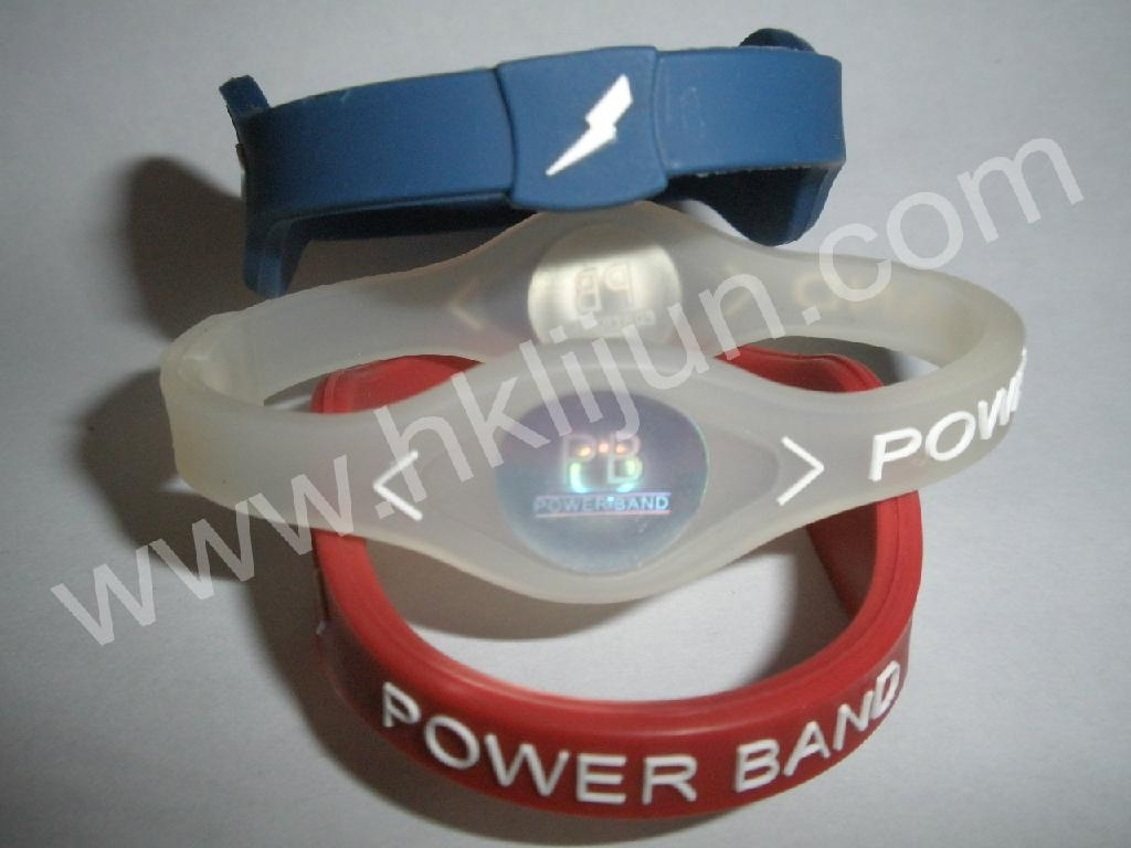 Customized Silicone Energy Wristbands 1