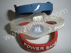 Customized Silicone Energy Wristbands