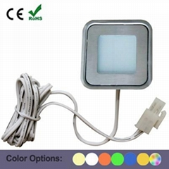 Square LED Light Floor Recessed Lighting With Stainless Steel Cover