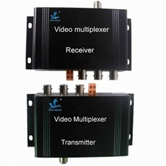 3-Channel One Coaxial Cable Video Transmission