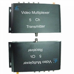 5-Channel One Coaxial Cable Video Transmission System