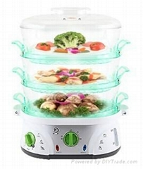 TS-9688-2H keep warm electric rice vegetable food steamer