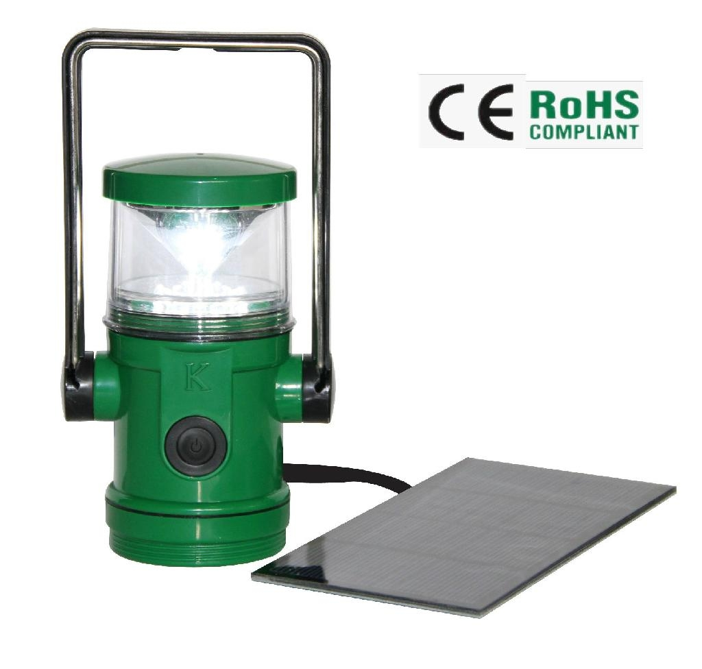 16 LED water-proof NiMH battery solar lantern 1
