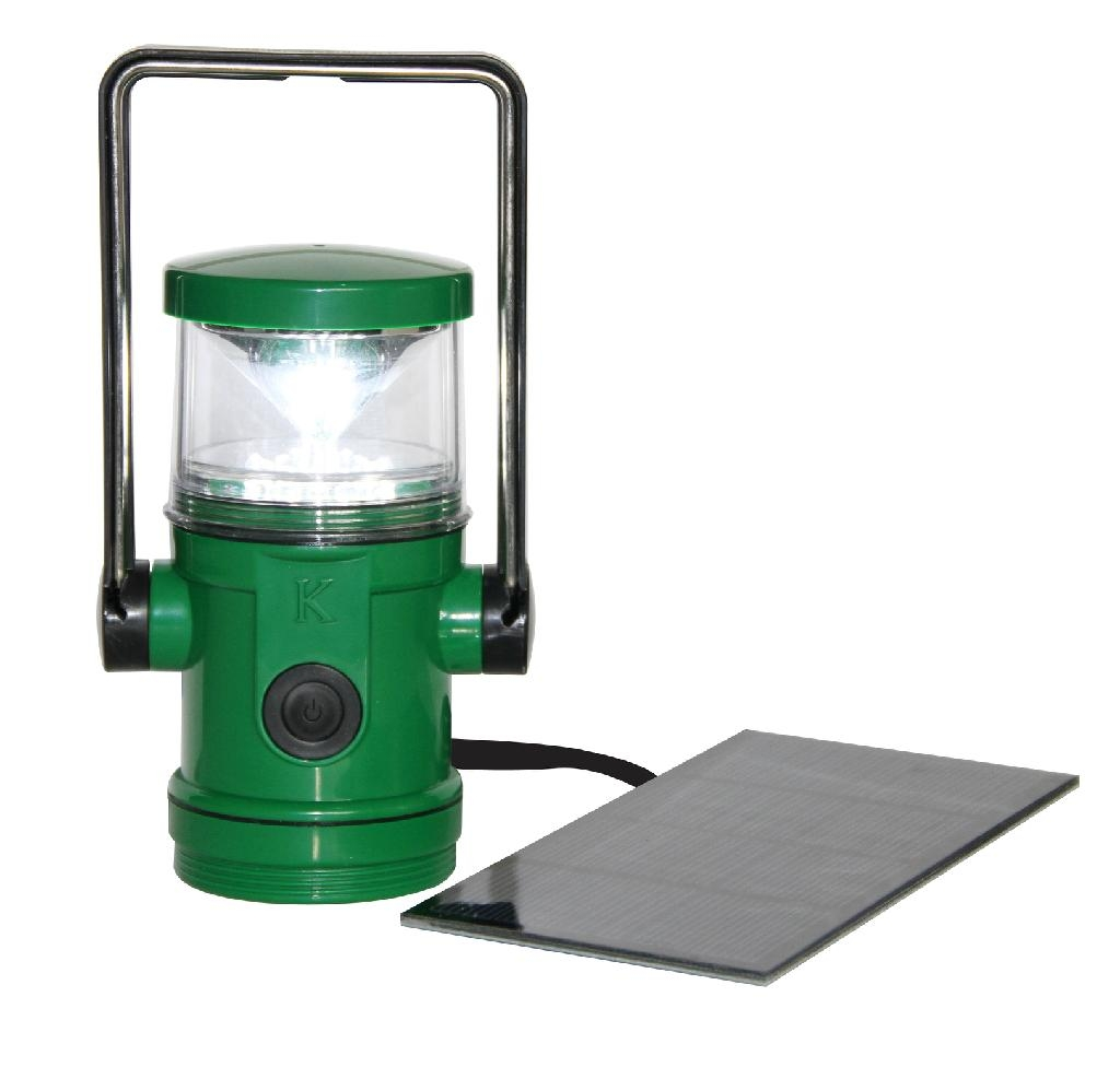 16 LED water-proof NiMH battery solar lantern 5