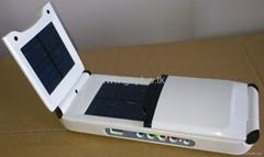 universal foldable 12000mah solar power bank