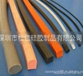 Foaming silicone products