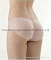 Silicone buttocks pad