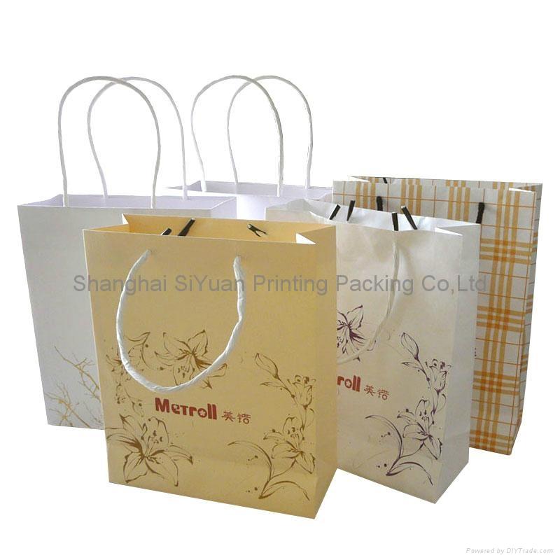 购物袋 纸袋 公司公告宣传购物