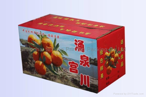 Fruit Corrugated Packaging Carton Boxes 2