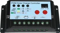 PWM调光太阳能控制器
