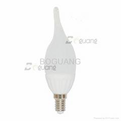 4W E14 F37/C37 ceramic housing CE approved led bulb light