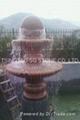 Natural granite stone fountain 1