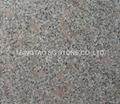 Natural grey granite pearl flower