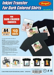 A4 Dark T shirt Heat Transfer Paper