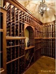红酒酒窖设计工程效果图