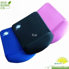 Good quality memory form wrist rest mouse pad
